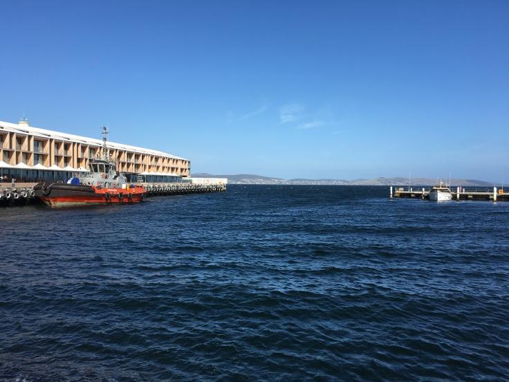 Stunning Hobart harbour