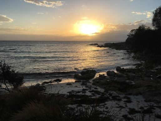 Sunrise at Bay of Fires