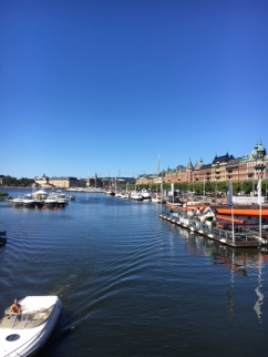 Stockholm on a sunny day