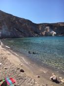 Firopotamos beach, Milos