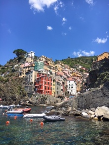 Riomaggore- another town in the Cinque Terre