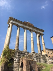 A structure in the Roman Forum
